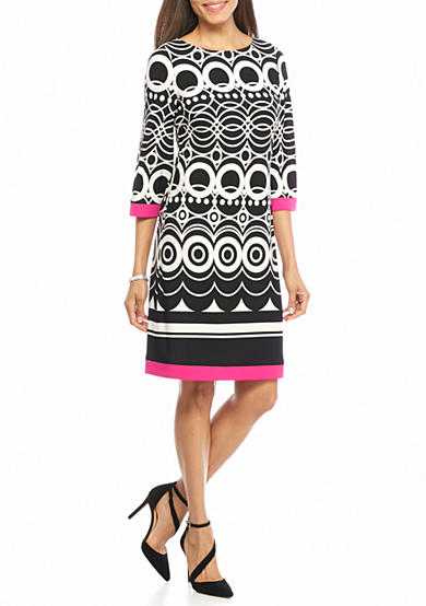 Laura Jeffries T-Body Shift Dress