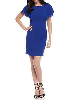 J Howard Royal Cape Dress