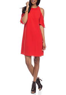 J Howard Cold Shoulder Dress