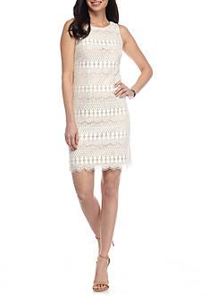 J Howard Lace Shift Dress