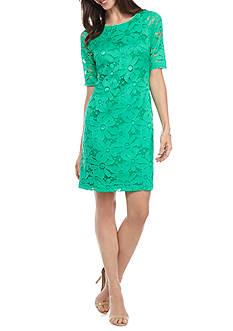 Chris McLaughlin Floral Sheath Dress