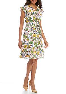 Rabbit Rabbit Rabbit Floral Ruffle Dress