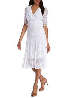 Rabbit Rabbit Rabbit Empire Waist Lace Dress