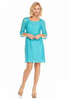 Chris McLaughlin Lace Shift Dress