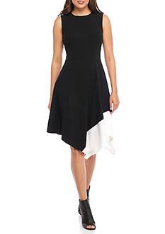 Calvin Klein Colorblock A-line Dress