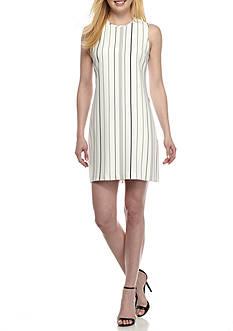 Calvin Klein Stripe Shift Dress