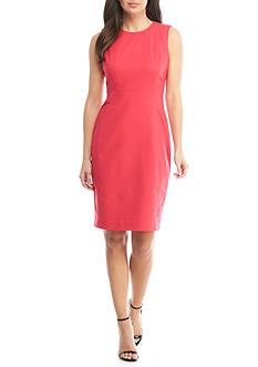 Calvin Klein Fitted Scuba Dress