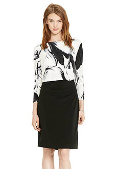 Lauren Ralph Lauren Boat-Neck Jersey Dress