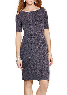 Lauren Ralph Lauren Cutout Jacquard Dress