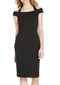 Lauren Ralph Lauren Jersey Halter Dress