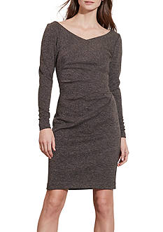 Lauren Ralph Lauren Pleated Sheath Dress