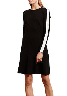 Lauren Ralph Lauren Jersey Drop-Waist Dress