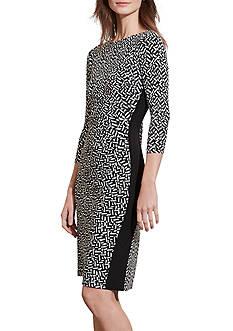 Lauren Ralph Lauren Print Sheath Dress