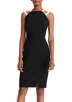 Lauren Ralph Lauren Two-Tone Sheath Dress