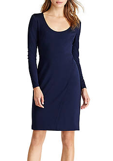 Lauren Ralph Lauren Jersey Scoop-neck Dress