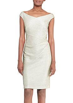 Lauren Ralph Lauren Metallic Sheath Dress