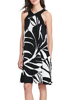 Lauren Ralph Lauren Tropical-Print Jersey Dress