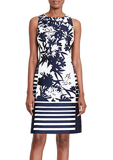 Lauren Ralph Lauren Printed Sateen Dress