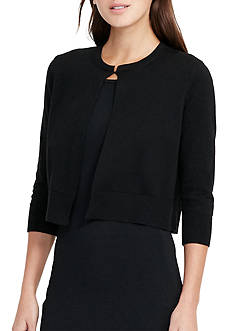 Lauren Ralph Lauren Cotton Blend Cardigan