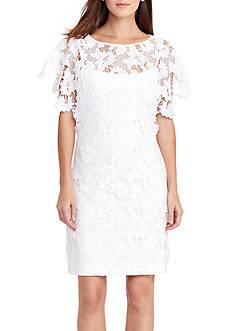 Lauren Ralph Lauren Floral Lace Dress