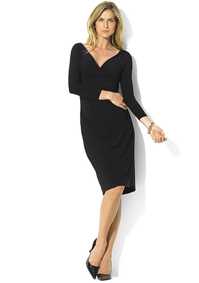 Lauren Ralph Lauren Long-Sleeved Jersey Dress<br>