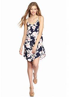 BeBop Floral Printed Slip Dress