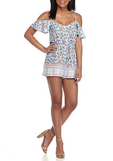 BeBop Cold Shoulder Romper