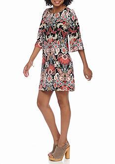 BeBop Floral Printed Shift Dress