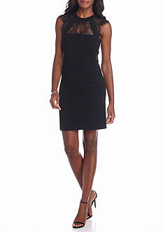 julia jordan® Banded Bodice Sheath Dress
