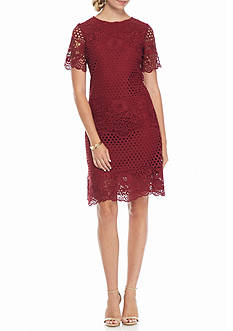 Julia Jordan Lace Shift Dress