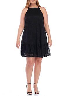 Luxology™ Plus Size Lace Shift Dress