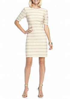 Madison Leigh Tweed A-line Dress