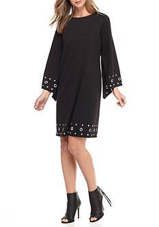 Soho Bell-Sleeve Shift Dress