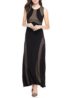 Soho Two-Tone Maxi Dress