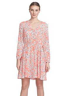 CeCe Floral Printed Dress