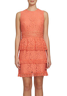 CeCe Tiered Lace Dress