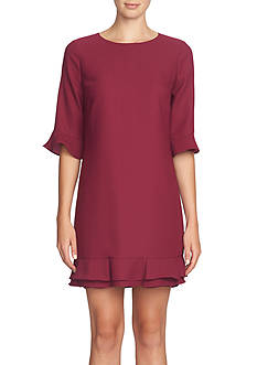 CeCe by Cynthia Steffe Ruffle Shift Dress
