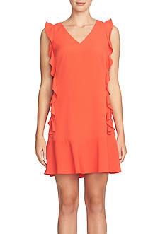 CeCe Ruffle Drop-waist Dress
