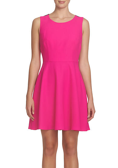 CeCe by Cynthia Steffe Bow Back Fit and Flare Dress