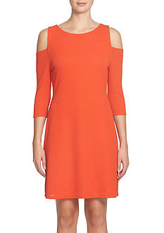 CeCe by Cynthia Steffe Cold-Shoulder Sheath Dress