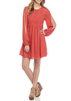 Jolt Crochet Front Dress