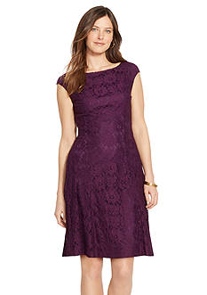 American Living™ Floral Lace Dress