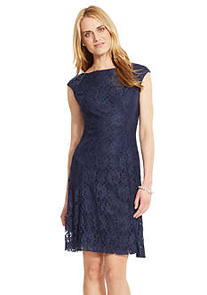 American Living™ Floral-Lace Dress