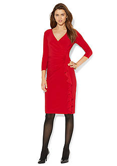 American Living™ Ruffled Jersey Dress