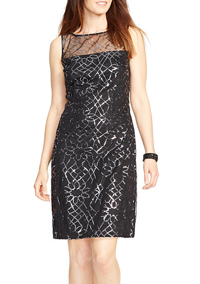 American Living™ Sleeveless Sequined Dress