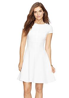 American Living™ Chevron Jacquard Dress