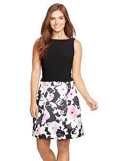 American Living™ Floral-Skirt Dress