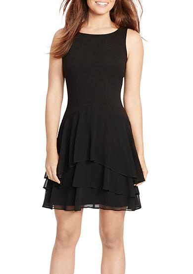 American Living™ Tiered Fit-and-Flare Dress
