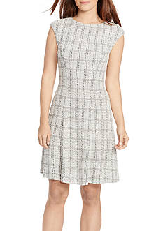 American Living™ Tweed Jacquard Dress