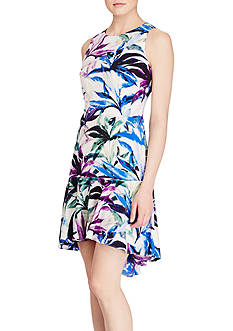 American Living™ Floral-Print Crepe Dress